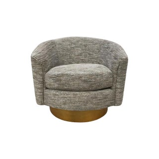 Bernhardt Camino Swivel Chair For Sale