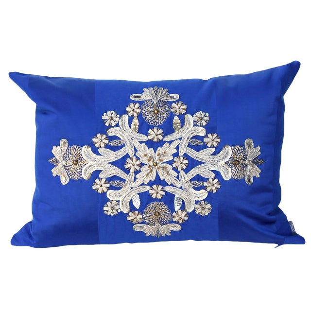 Embroidered Pillow For Sale
