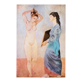 """1971 Picasso, Period Parisian Photogravure """"La Toilette"""" For Sale"""
