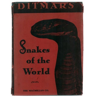 """1949 """"Snakes of the World"""" Coffee Table Book For Sale"""