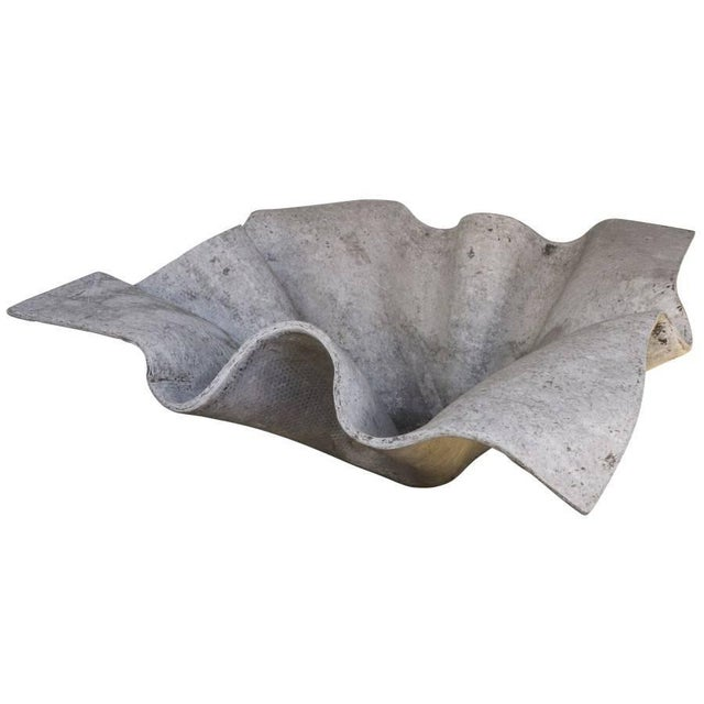 Mid-Century Modern Large Willy Guhl Handkerchief Planter For Sale - Image 3 of 6