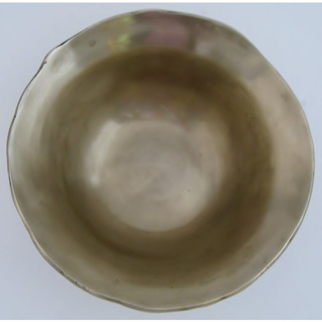Decorative Bronze Bowl - Image 3 of 6