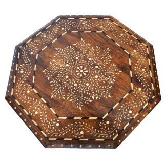 Indian Bone Fitted Octagonal Side Table Preview