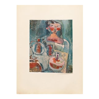 """1955 Paul Klee, First Edition Lithograph """"Girl With Jugs"""" For Sale"""