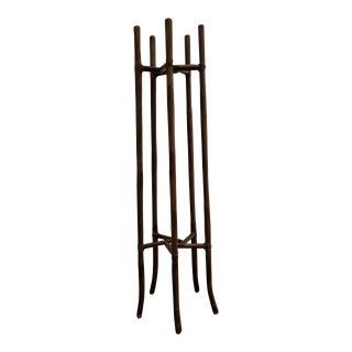 Bamboo Plant Stand by McGuire Furniture For Sale