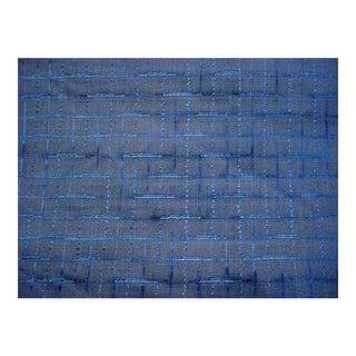 Osborne Little Violetta Royal Blue Ariadne Velvet Upholstery Fabric- 2 3/4 Yards For Sale