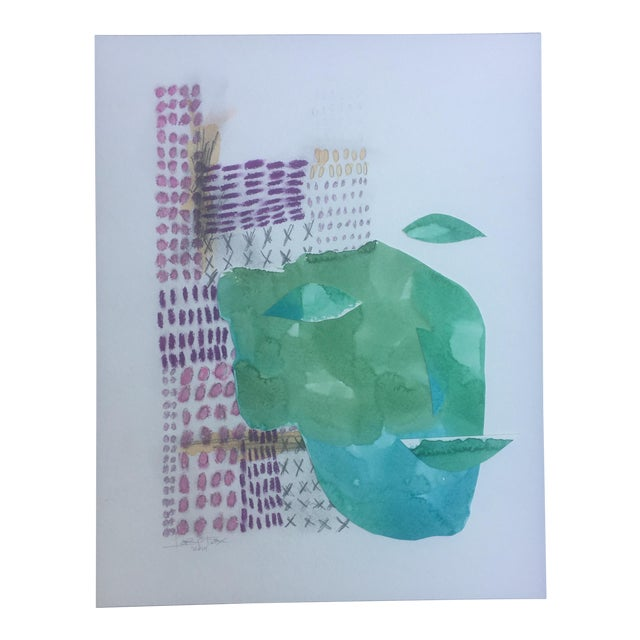 African Watercolor Collage - Image 1 of 6