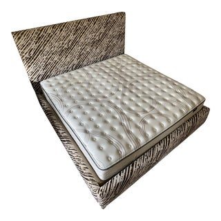 Abc Home & Carpet Bed Upholstered With Donghia Fabric For Sale