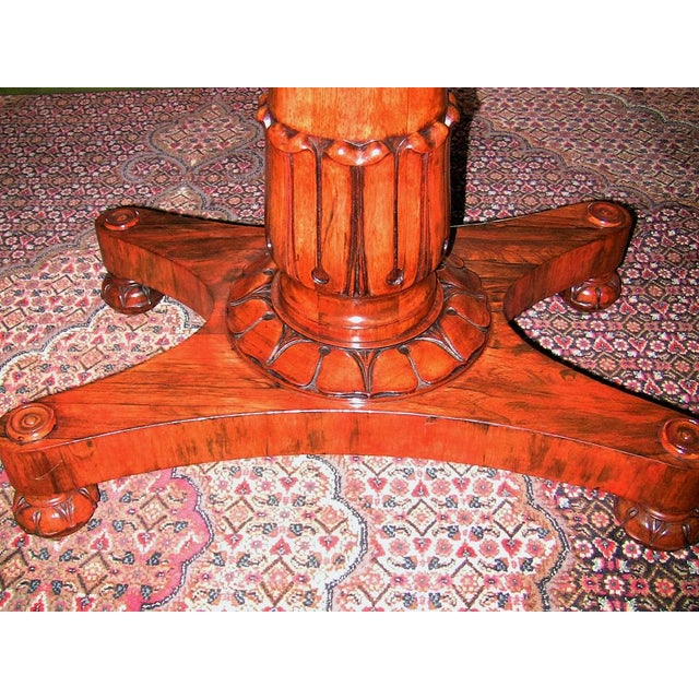 Wood 19th Century British William IV Telescopic Side Table in the Manner of Gillow's For Sale - Image 7 of 12