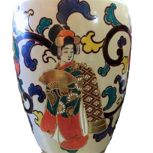 Bohemian Asian Lamp - Image 3 of 4
