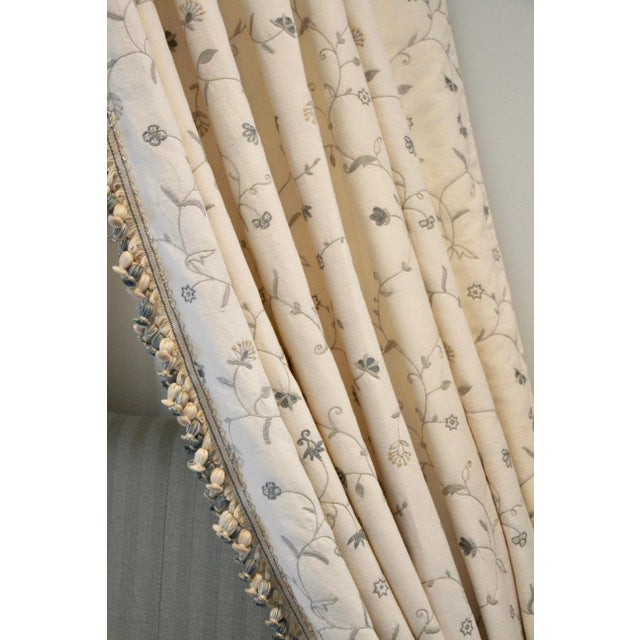 Italian Giltwood Bed Corona W/ Draperies For Sale - Image 10 of 12