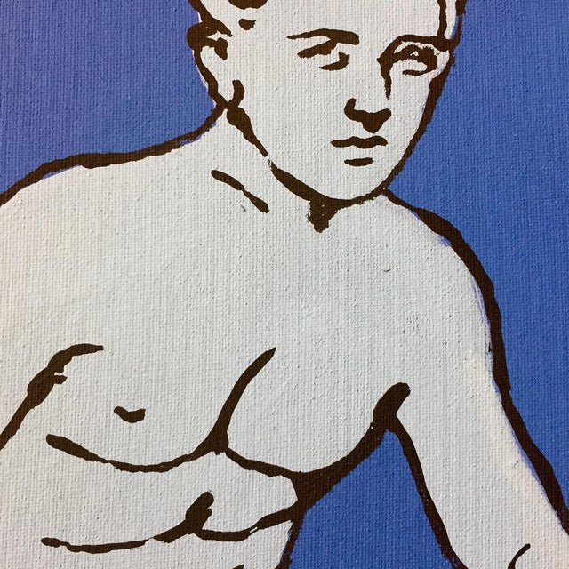 "Patrick Moya ""Mercure Bleu"" Acrylic, France For Sale In New York - Image 6 of 9"