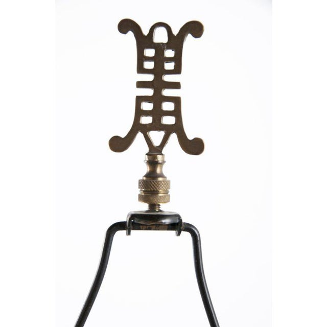Bronze 1820 Japanese Bronze Pricket Lamp For Sale - Image 7 of 8