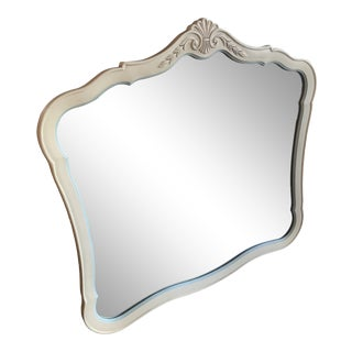 Victorian Style Wood Wall Mirror For Sale