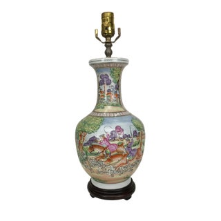 20th Century Japanese Ceramic Table Lamp For Sale