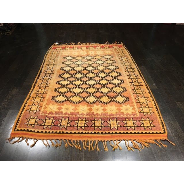 Bellwether Rugs Vintage Moroccan Area Rug - 4′4″ × 10′7″ - Image 2 of 8