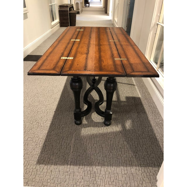 Flip Top Console Table For Sale - Image 9 of 13