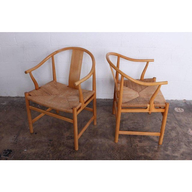 1970s Six Chinese Chairs by Hans Wegner for PP Mobler For Sale - Image 5 of 11