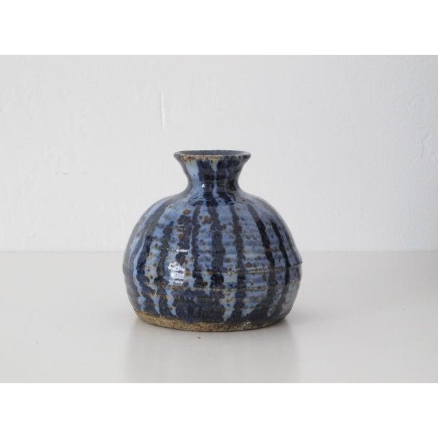 Blue & Navy Drip vase - Image 2 of 5