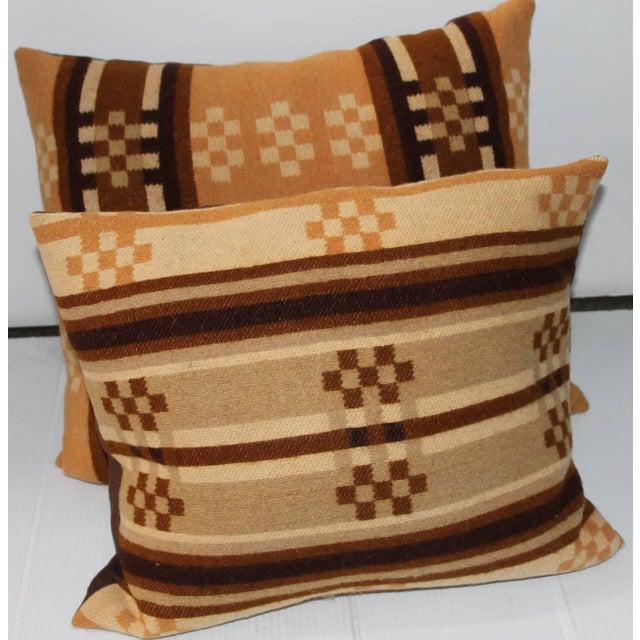 Group of Four Horse Blanket Pillows For Sale - Image 9 of 10