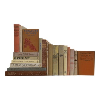 Asian History & Culture Set - Twenty Decorative Books For Sale