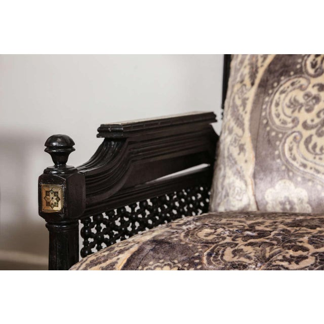 Late 19th Century Middle Eastern Syrian Moorish Settee For Sale - Image 5 of 9