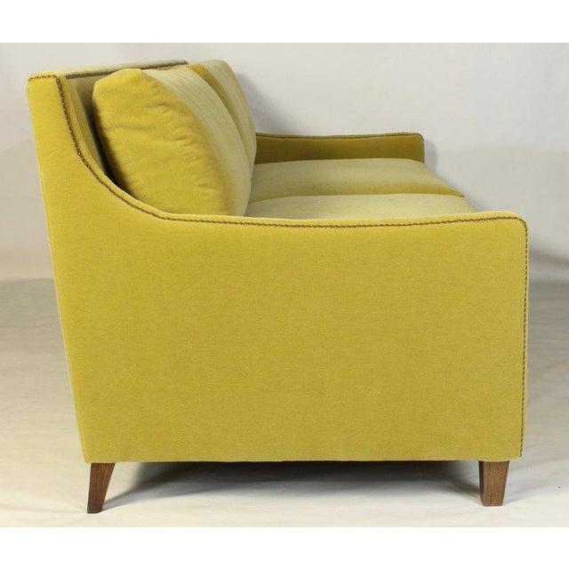 Contemporary Custom Made Deep Seated Sofa For Sale - Image 3 of 11