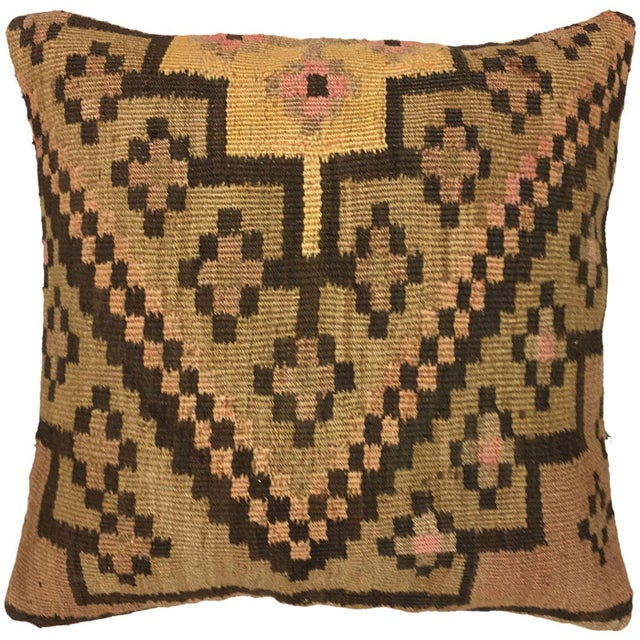 """Boho Chic Rug & Relic Kilim Pillow 