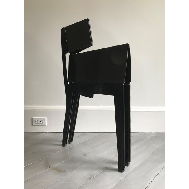 2010s Folding Stitch Chair - 2 Available For Sale - Image 5 of 8