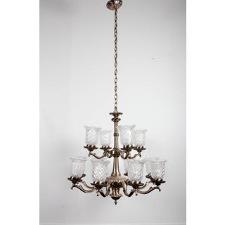 Brass 12-Lamp Chandelier Preview