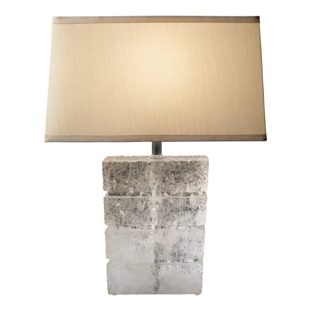 Traxx Lamp - Crystal For Sale