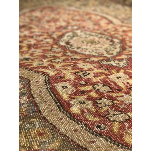 Bellwether Rugs Distressed Look Vintage Turkish Oushak Area - 4'x6' - Image 7 of 11