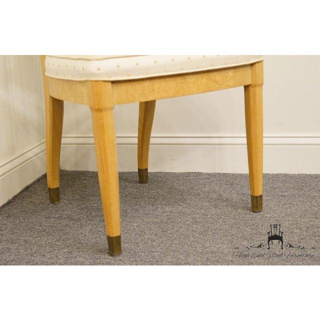 Henredon Scene Two Burled Olive Splat Back Dining / Side Chair For Sale - Image 10 of 13