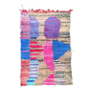 Colored Berber Kilim Rug For Sale