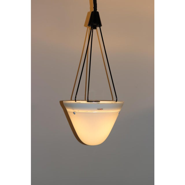 Mid-Century Modern Murano Glass Pendant Lamp For Sale In New York - Image 6 of 13
