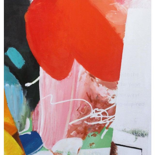 """Artist Palette / Oranges"" Original Abstract Artwork by Brandon Neher For Sale - Image 4 of 10"