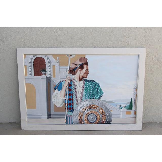J. Møbius Signed Large Illustration on Paper For Sale - Image 13 of 13