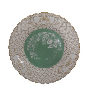 Meissen Reticulated Cabinet or Wall Plate