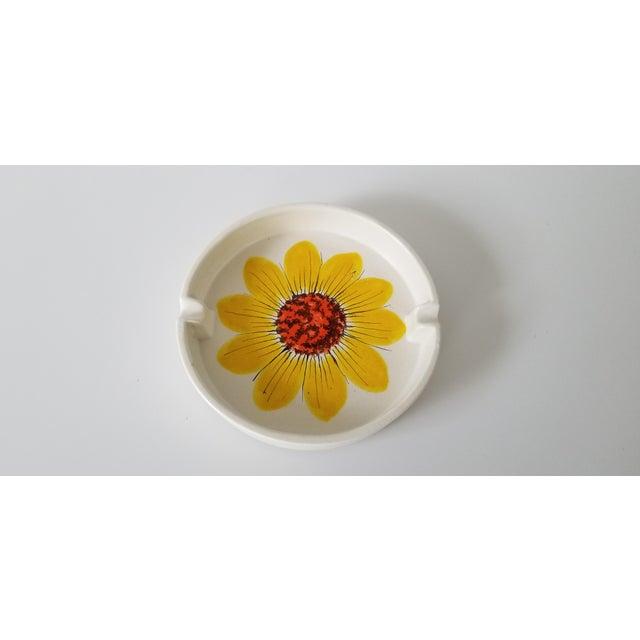 White Vintage Italian Rosenthal Netter Ceramic Ashtray. For Sale - Image 8 of 8