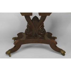 Late 19th Century American Empire style (late 19th Cent) mahogany dining table For Sale - Image 5 of 8