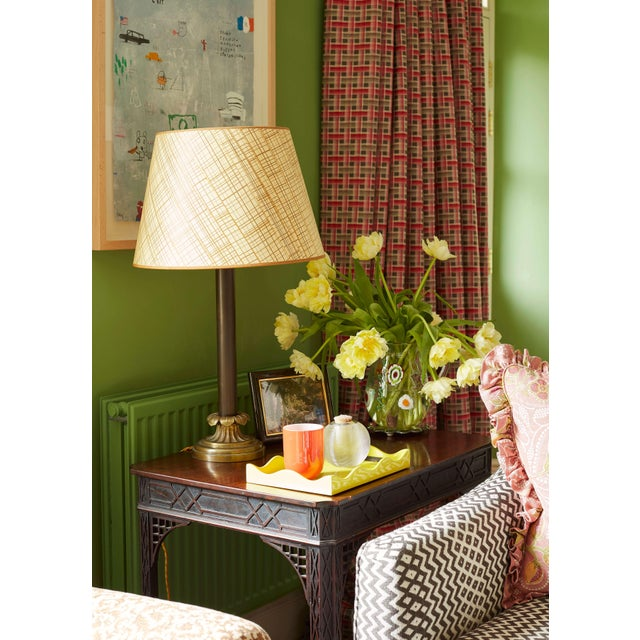 """Rita says: """"One of the hardest things to find is a beautiful lampshade. When you want a bit of pattern and to get away..."""