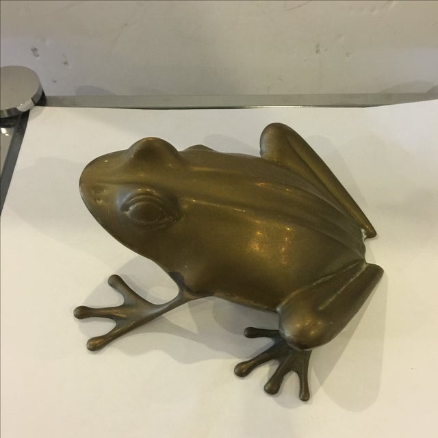 Brass Frog - Image 2 of 5