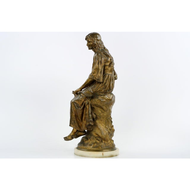 Paul Eugéne Mengin Bronze Sculpture - Image 2 of 10