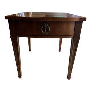 Henredon French Provincial Side End Table For Sale
