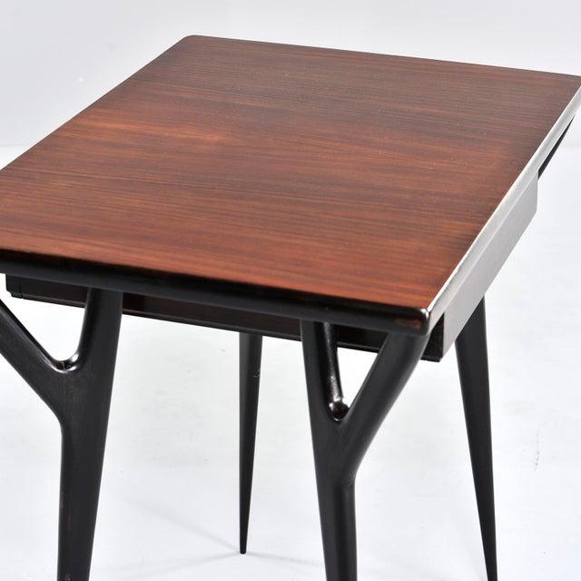 Small Mid Century Italian Desk For Sale - Image 11 of 12