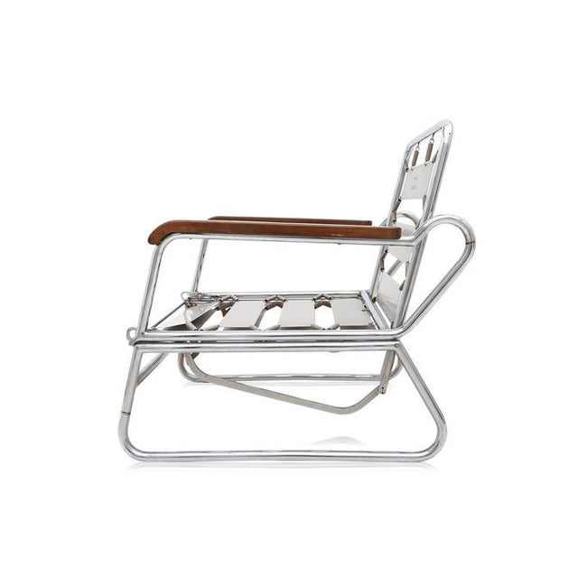 1950s Italian Swimming Pool Chaise Lounge Chair For Sale - Image 9 of 11