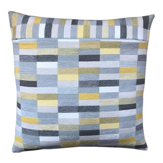 Reversible Color Block Pillow For Sale