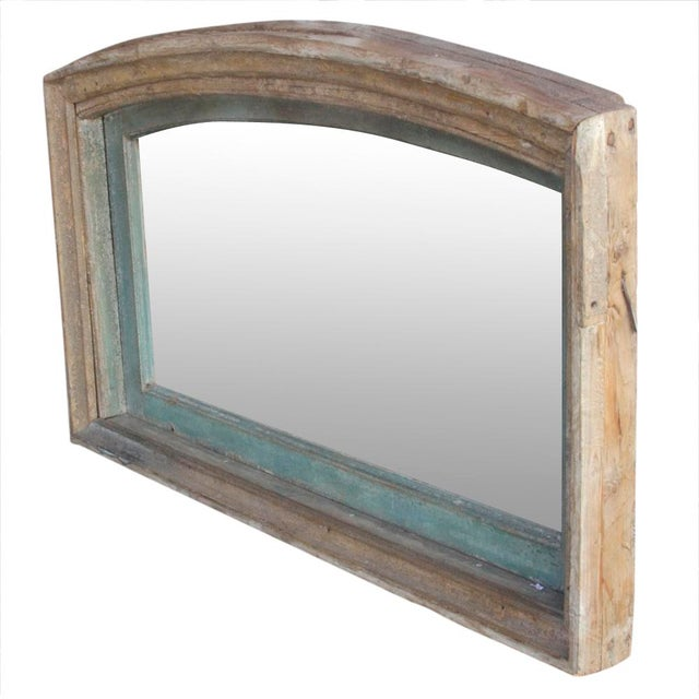 Rustic 19th Century Indo-French Mirror For Sale - Image 3 of 4