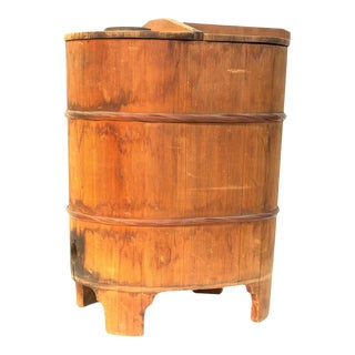 Antique Japanese Storage Container For Sale