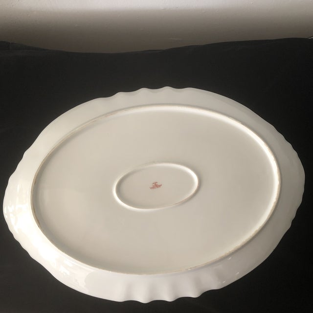 Ceramic 1940s French Haviland China Holiday Platters - A Pair For Sale - Image 7 of 11